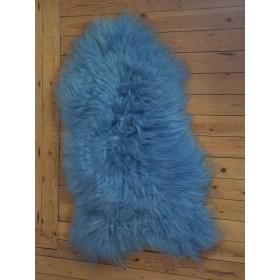 Peau de mouton d'Islande Bleu