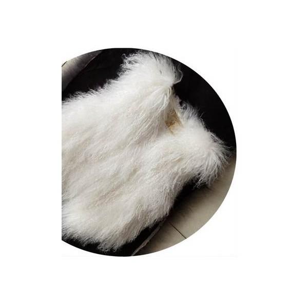 Gilet en chèvre de Mongolie - Adulte