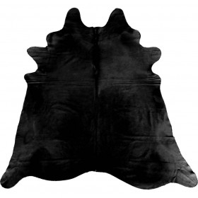 Peau de Vache Teintée noire