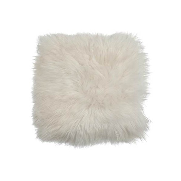 Galette de chaise Mouton Blanc
