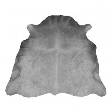Peau de vache teintée grise