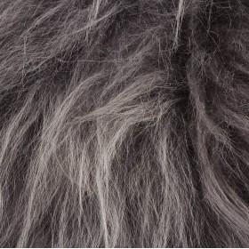 Galette de chaise en Peau de Mouton d'Islande gris