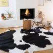 Peau de vache Noire & Blanche