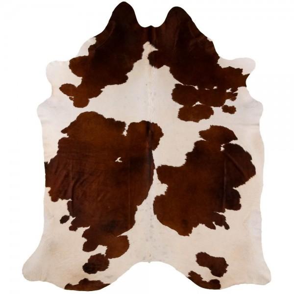 Peau de Vache marron et Blanche