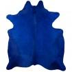 Peau de Vache Teintée Bleue