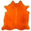 Peau de Vache Teintée Orange
