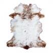 Peau d'Agneau beige et blanc