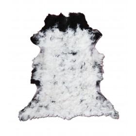 Peau d'Agneau Noir et Blanc