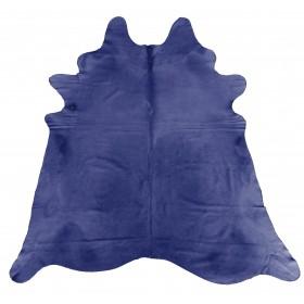 Peau de Vache teintée bleu violet