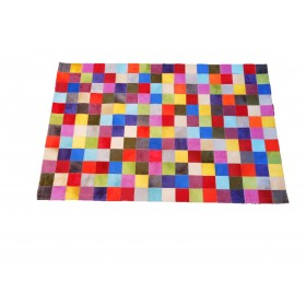 Tapis Patchwork multicolore