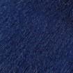Peau de vache zébrée bleue