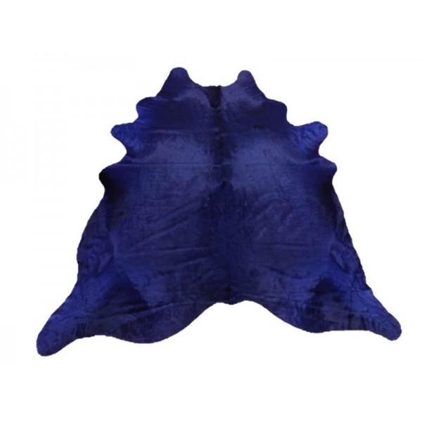 Peau de vache bleue